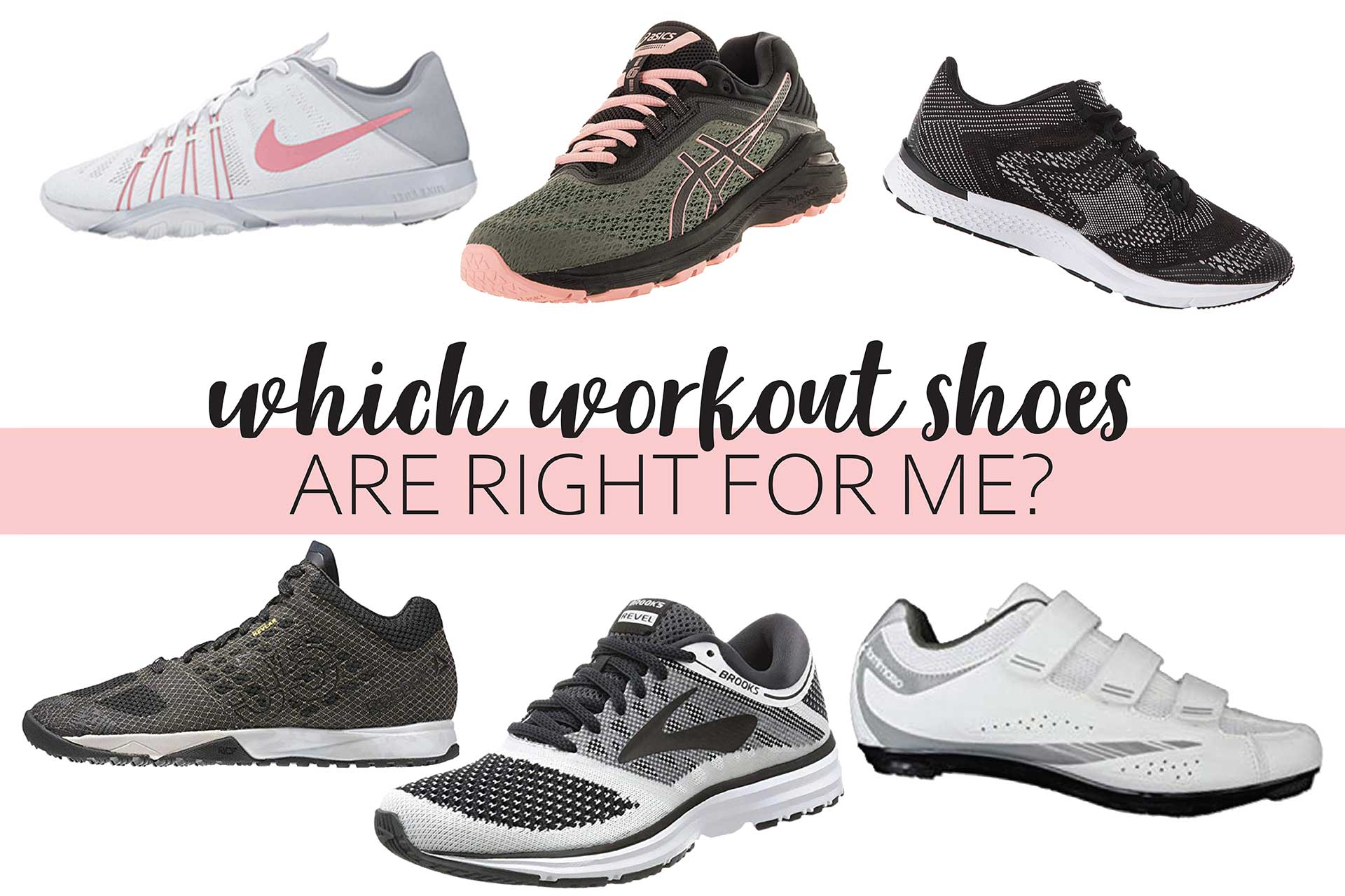Which Workout Shoes Are Right For Me?