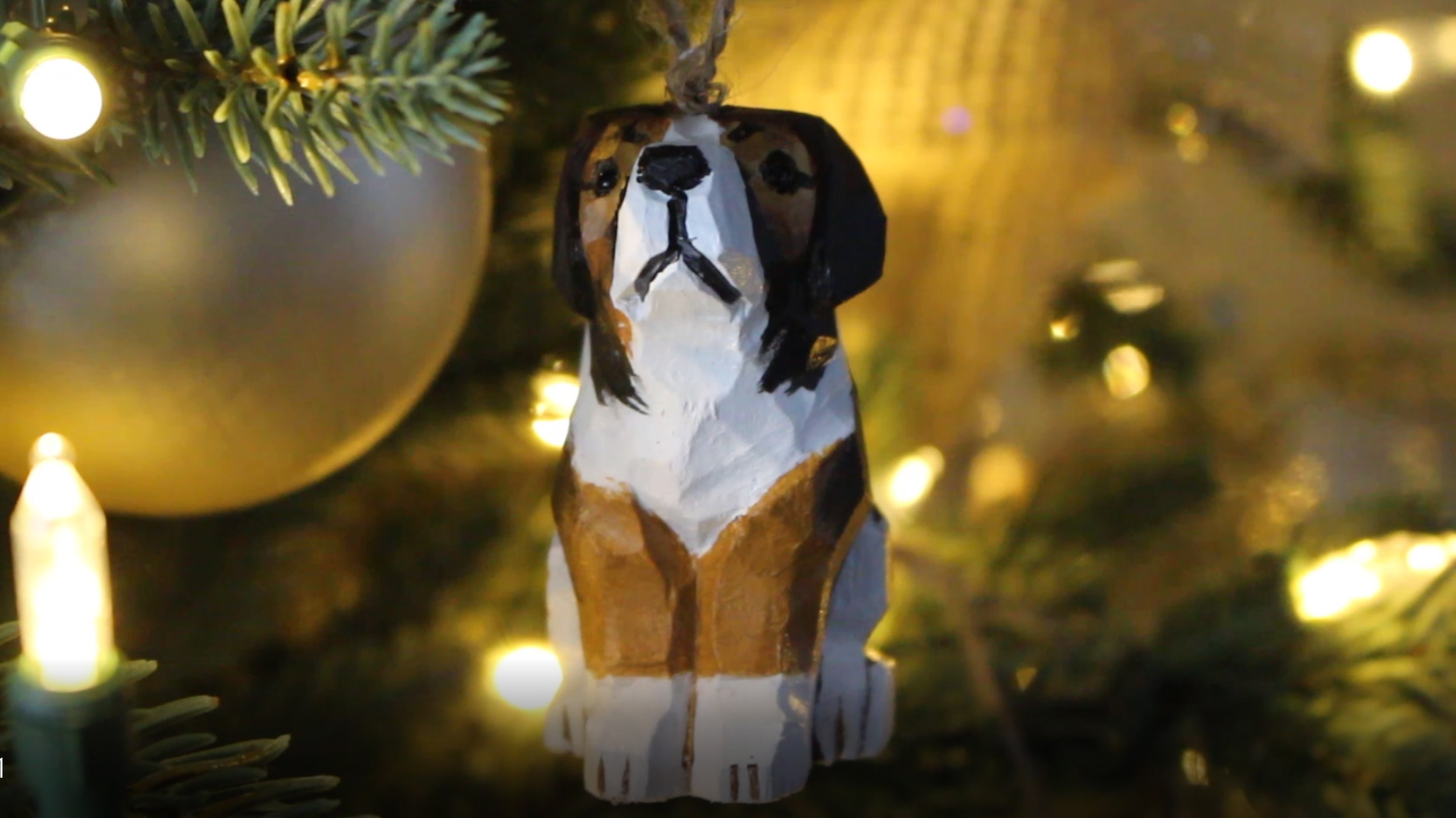 DIY Custom Dog Ornament